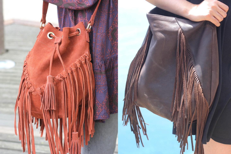 Fransentaschen Fringe Bags