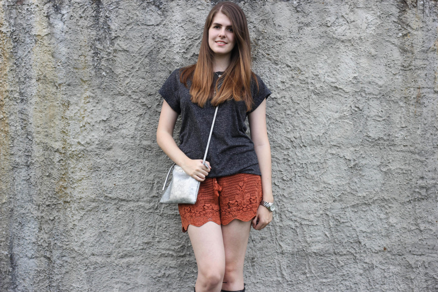 Crochet Shorts blogger