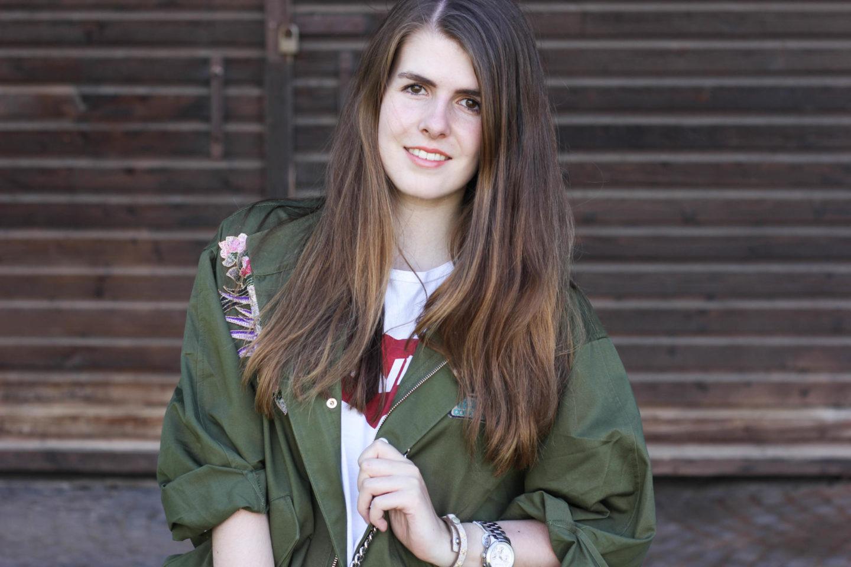 Zara Parka Levis Shirt