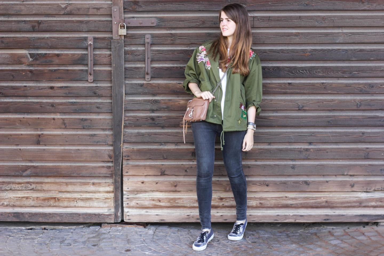 Zara Parka Outfit