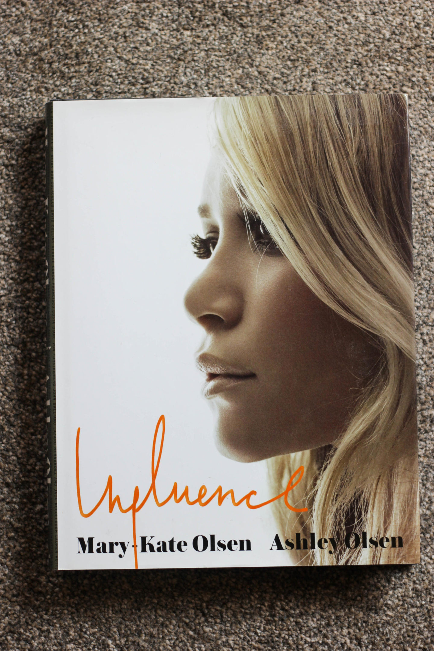 Olsen Influence Coffee Table Book