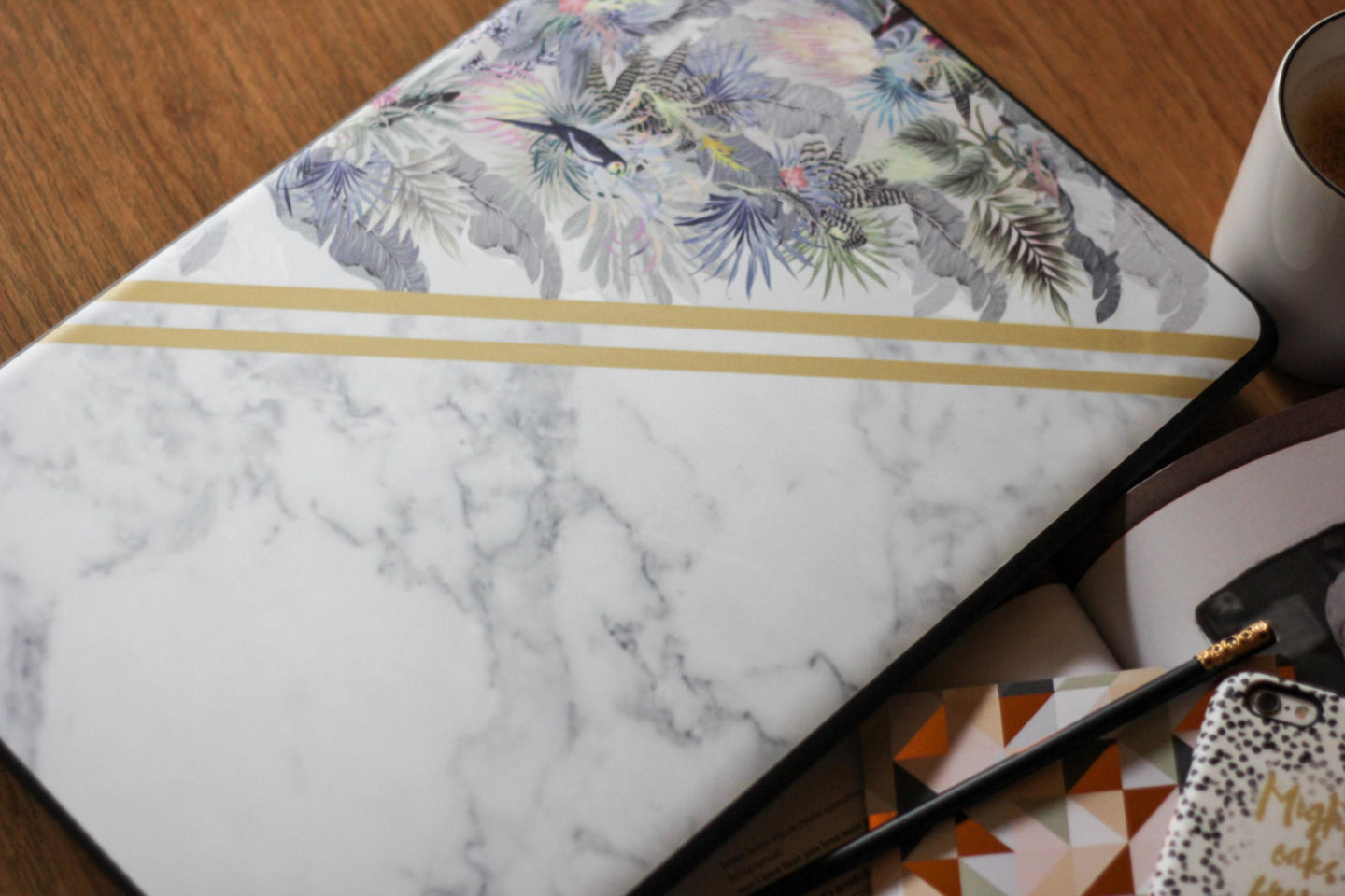 Laptop Case Marble Print