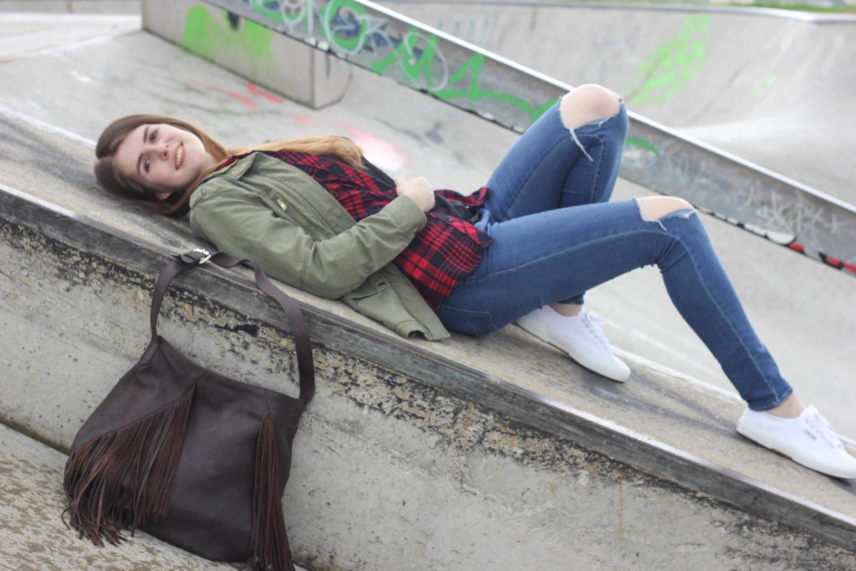 Blogger Posing