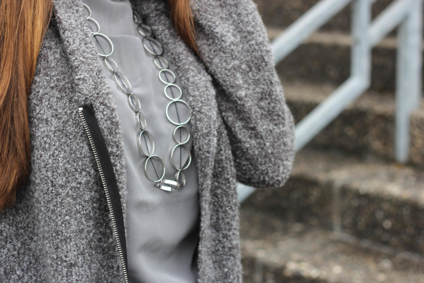 silver gray details