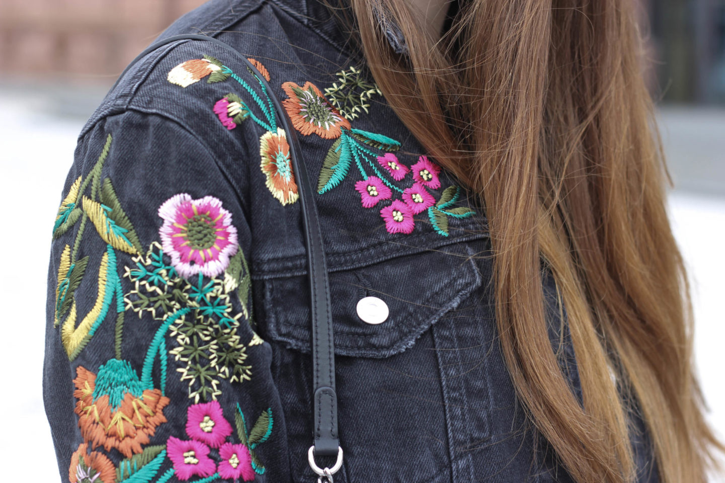 Flower Embroidery Topshop