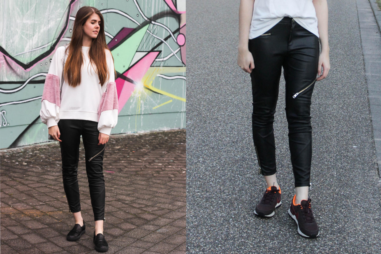 Most Worn Leather Pants Styling