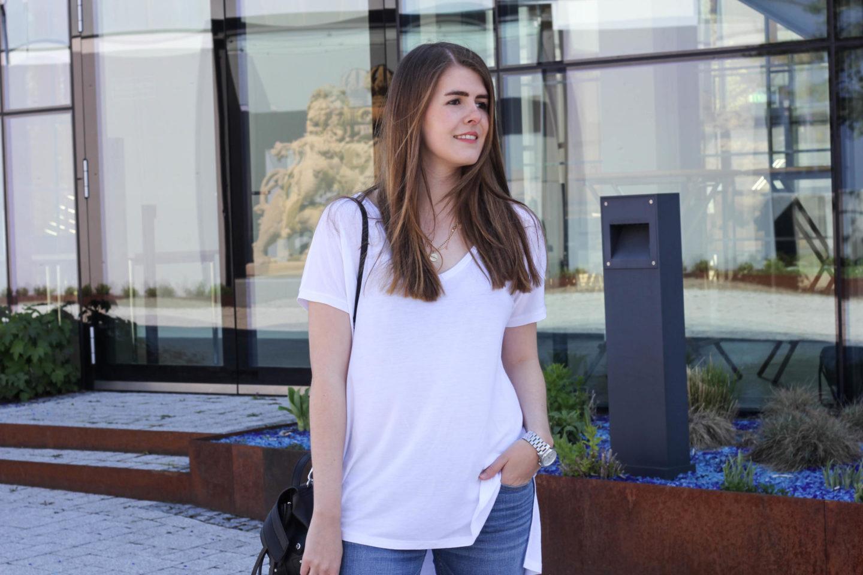 Perfektes Weißes T-Shirt