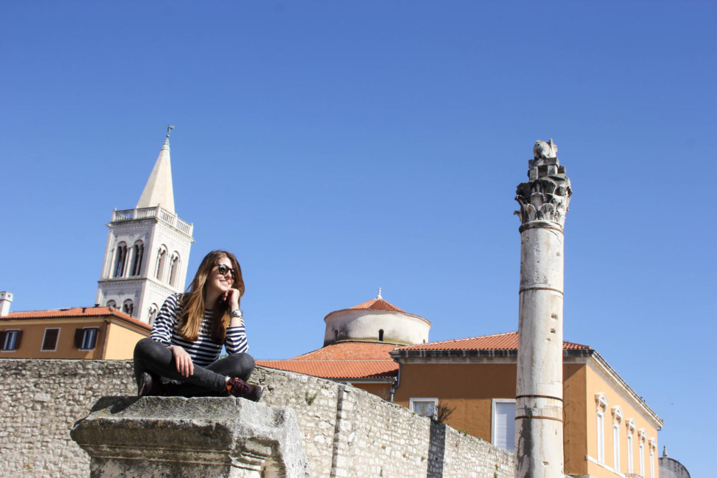 Zadar old town sightseeing