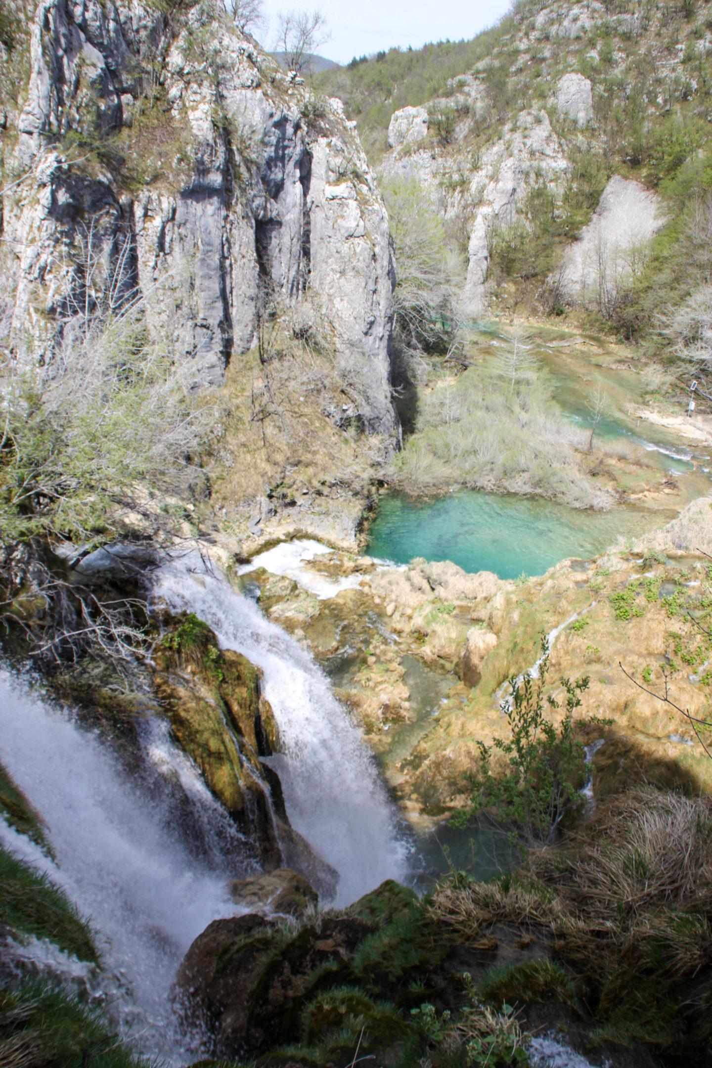 Plitvicer Lakes view
