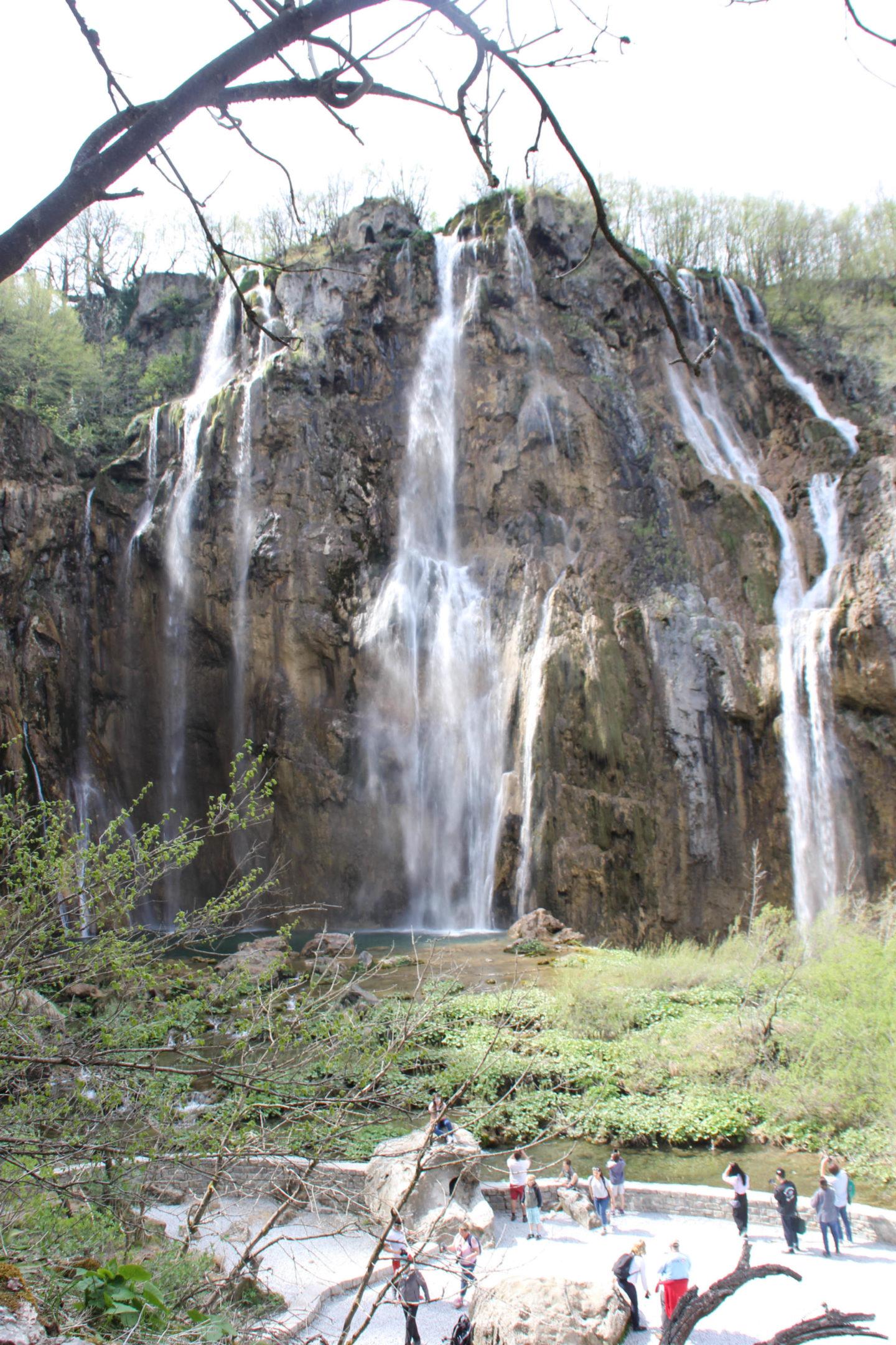 Waterfall Plitvicer Lakes