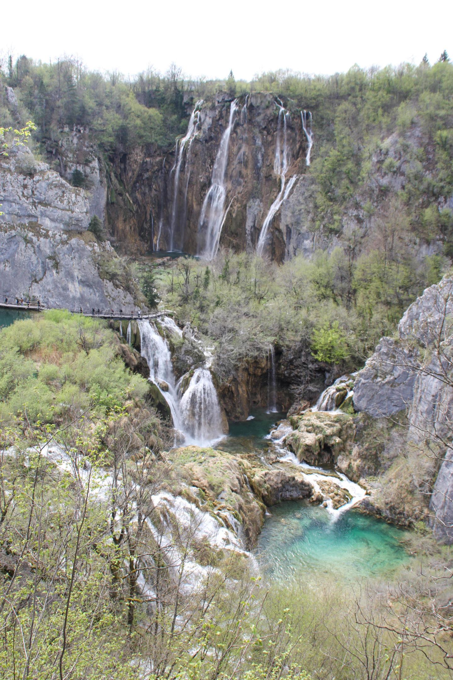 Kroatien Plitvice Ausblick