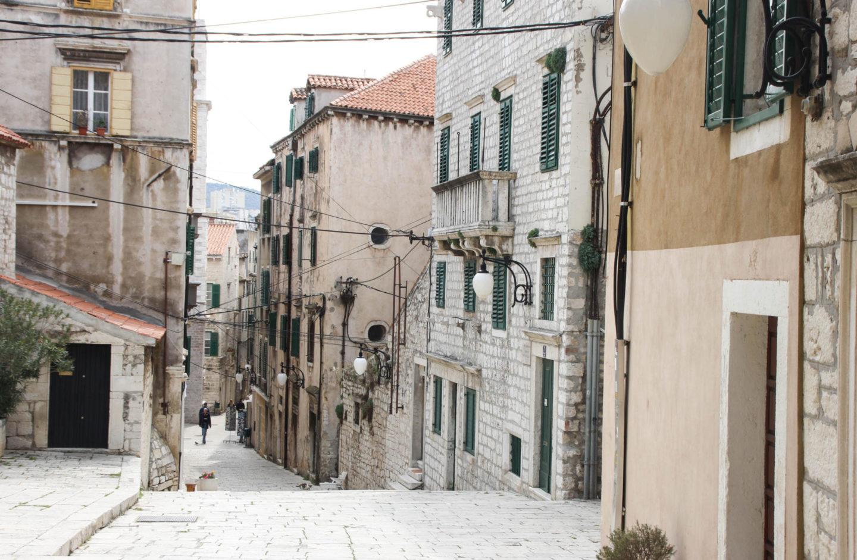 Sibenik Gassen Streets