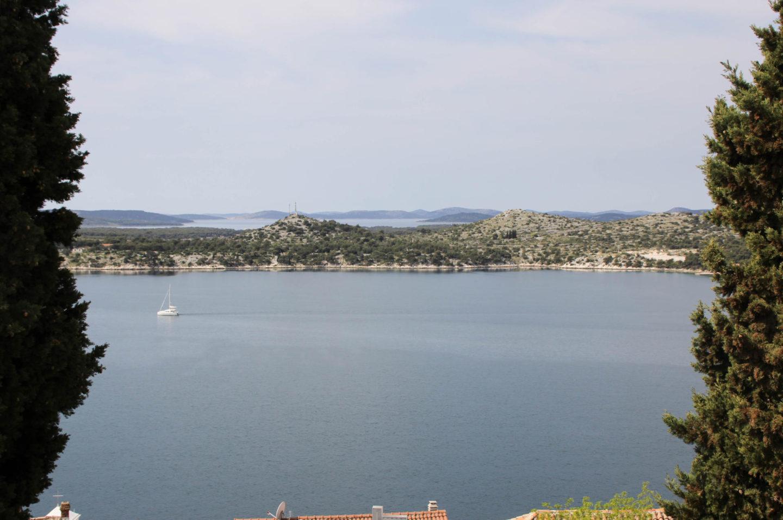 Kroatien Ausblick Meer