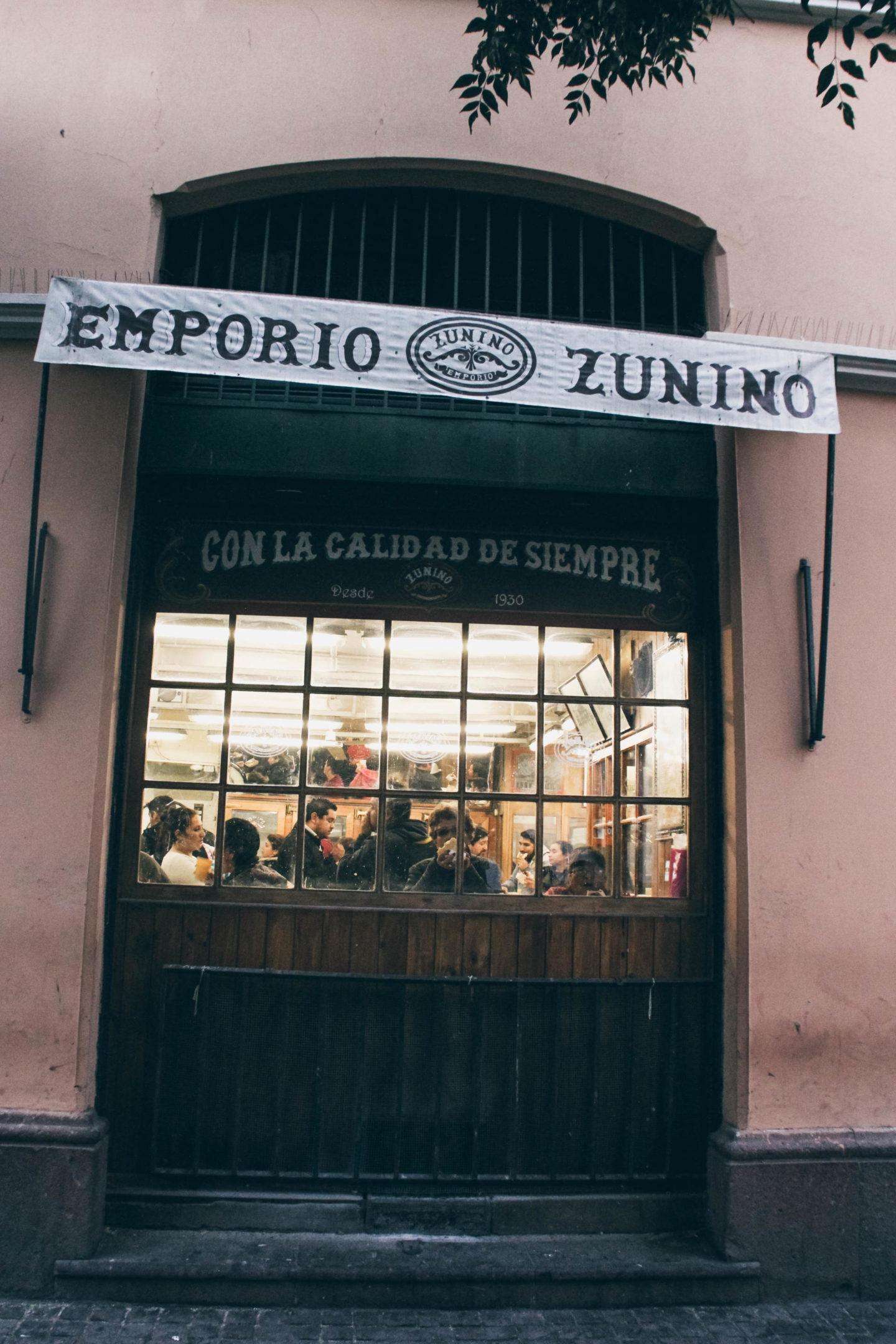 Emporio Zunino Santiago de Chile