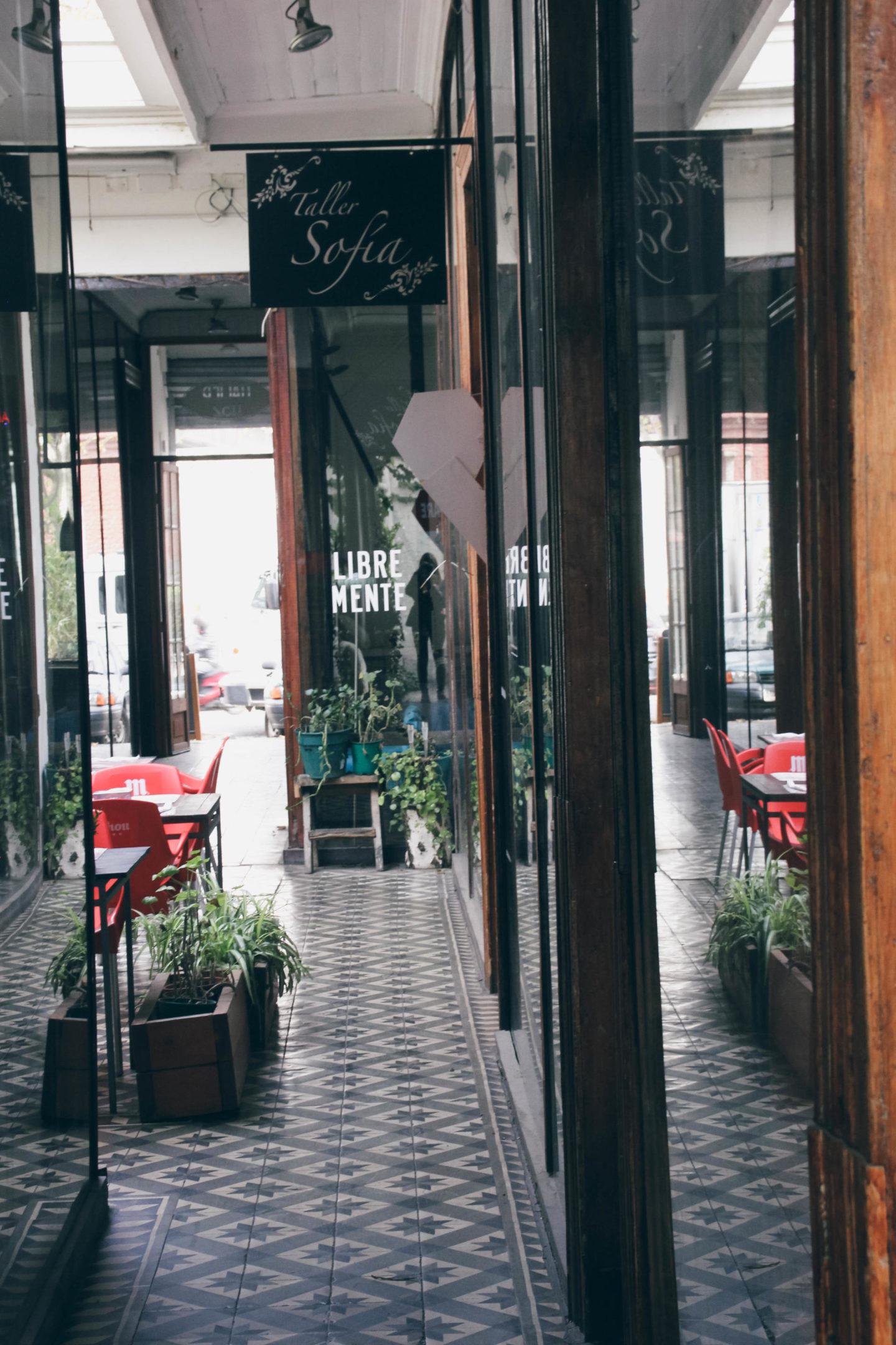 Barrio Italia Santiago de Chile