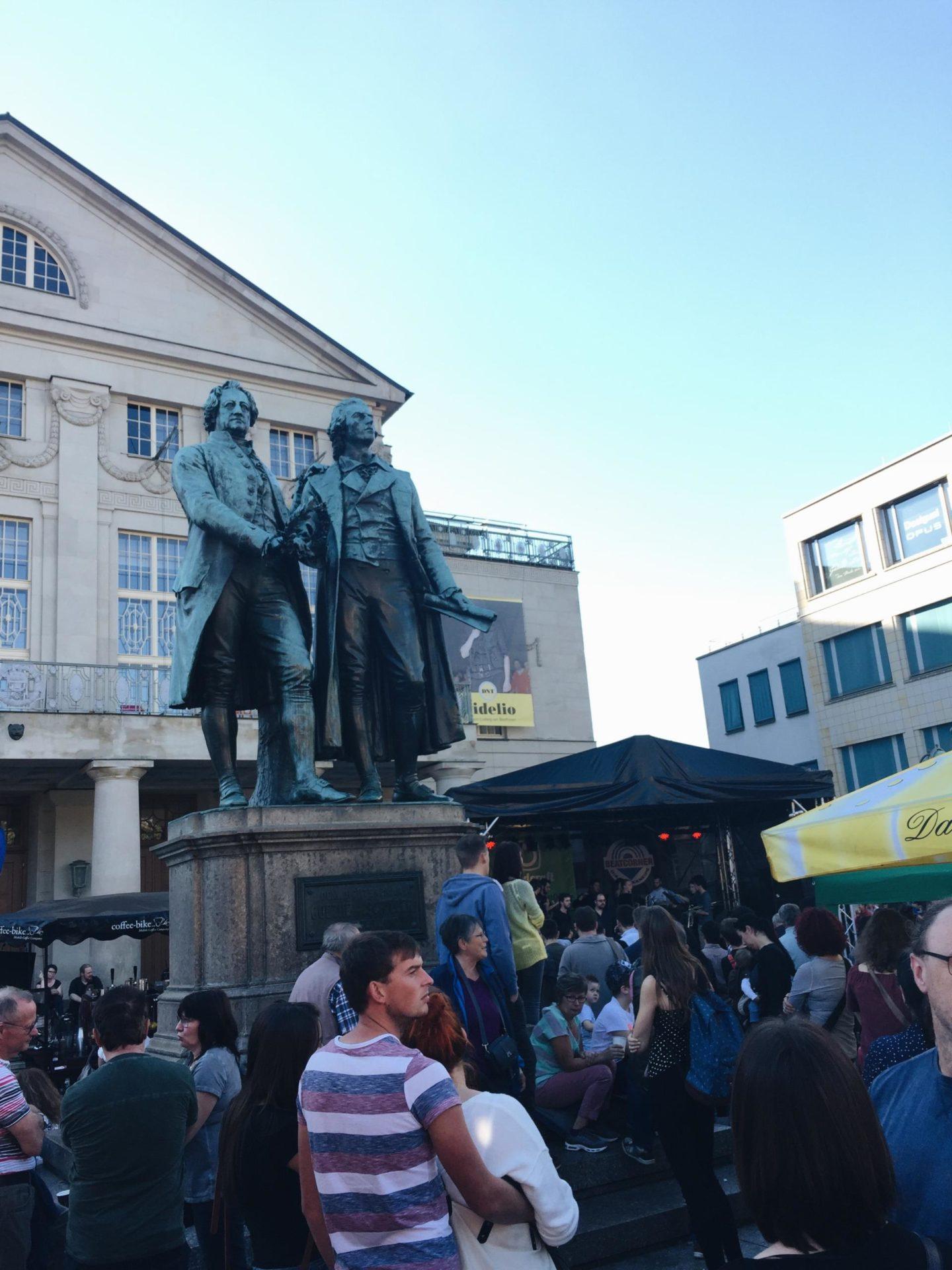 Wochenrückblick KW 41 – Zwiebelmarkt in Weimar & Vorkurse