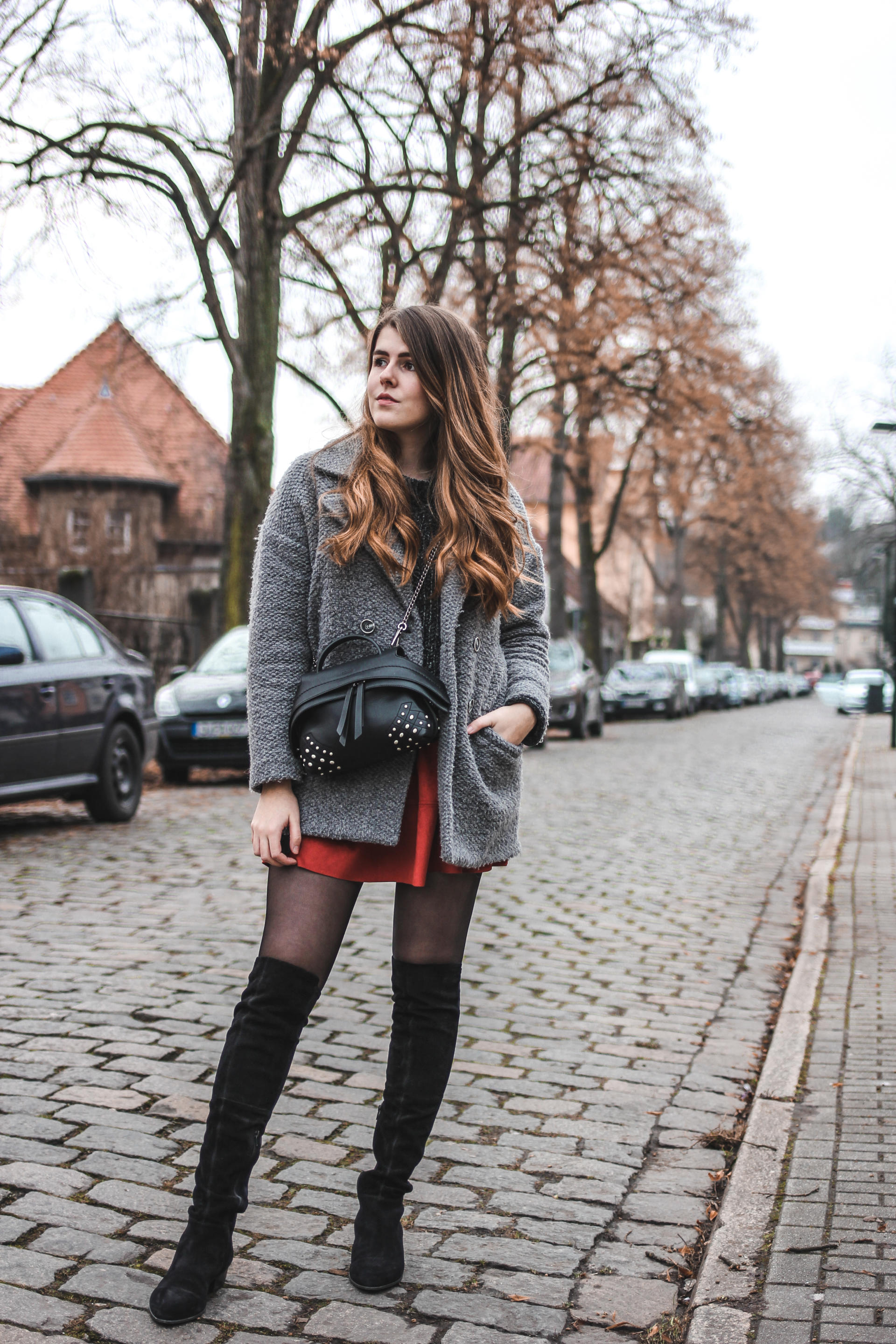 Overknee Stiefel Outfits