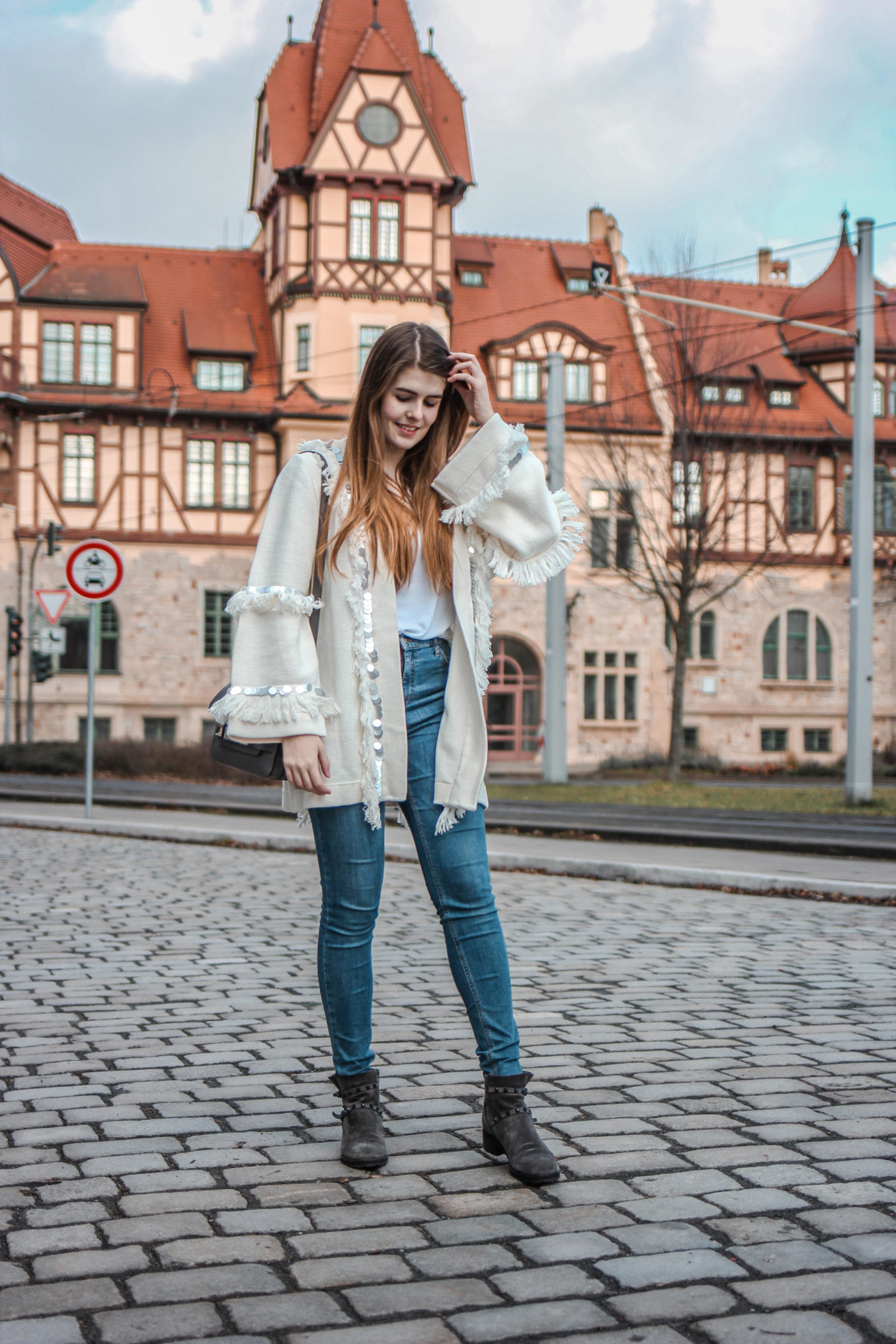Outfit Der perfekte Statement Cardigan