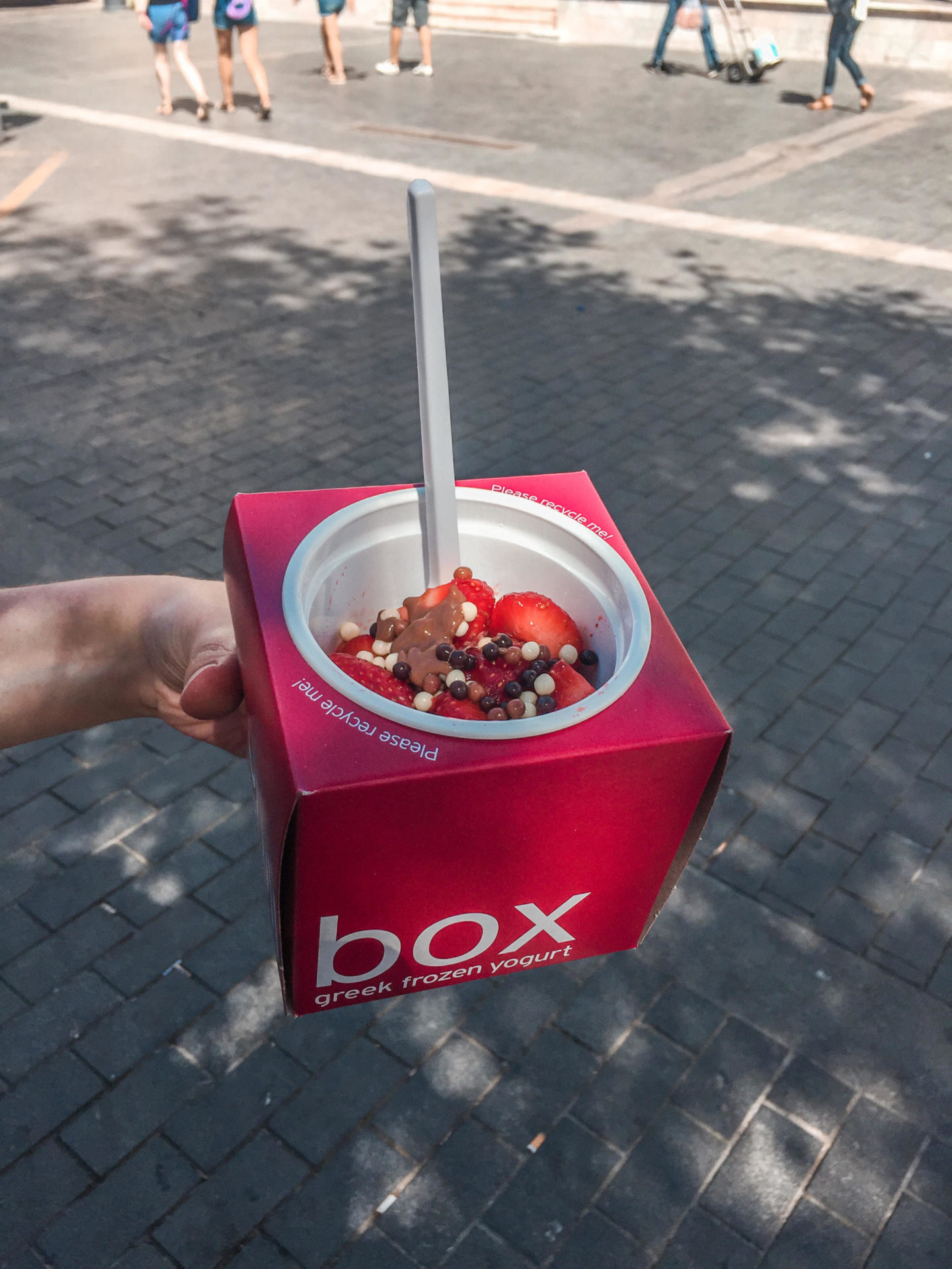 Chill Box Frozen Yoghurt