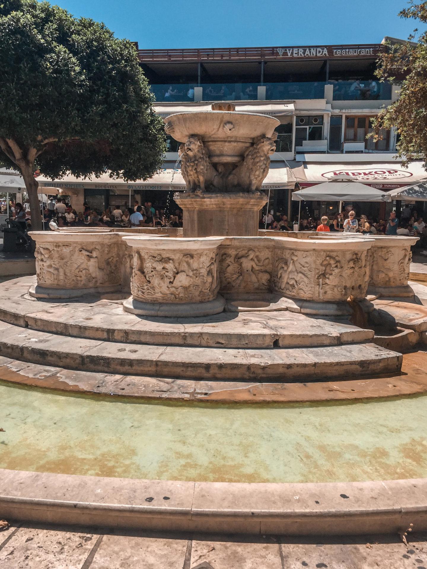 Löwenbrunnen Heraklion