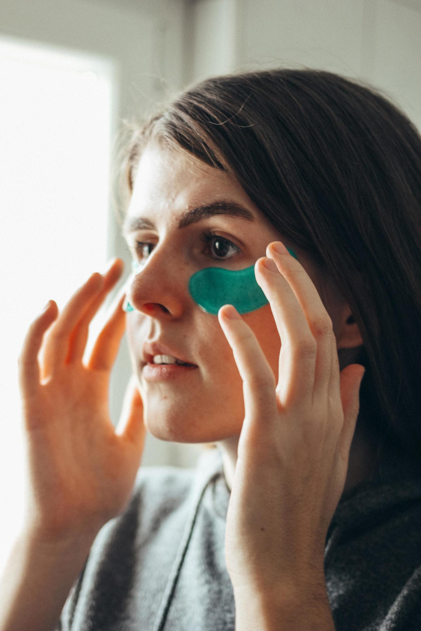 Hautpflege-Wellness